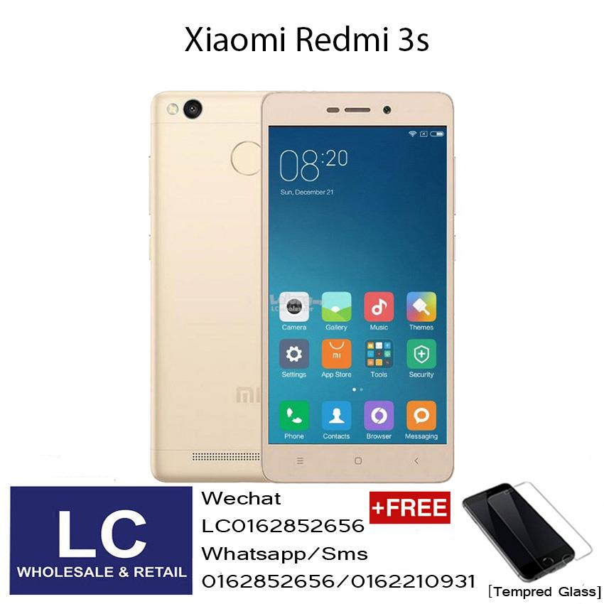 Xiaomi Redmi 3s 3GB+32GB Gold Original Import Global Rom