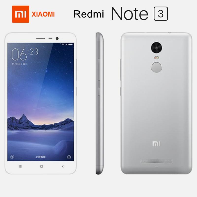 "Xiaomi Redmi Note 3 5.5"" 4G 2GB+16GB 13MP+5MP Dual SIM Silver"