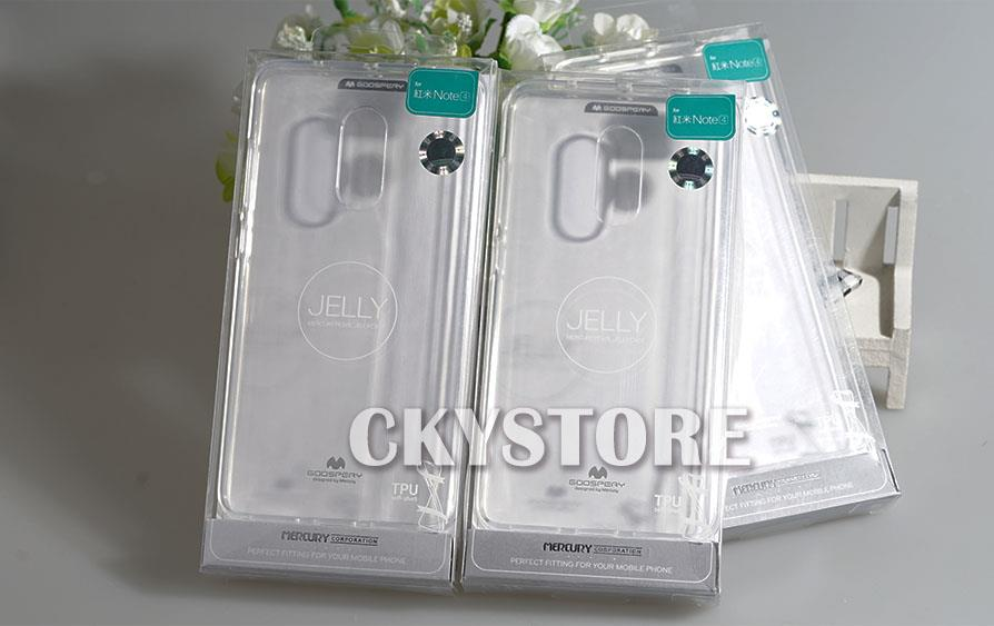XIAOMI Redmi Note 4 GOOSPERY MERCURY Transparent TPU Case