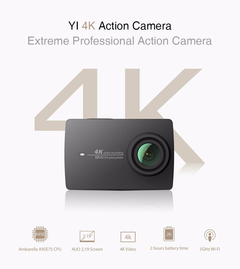 Xiaomi YI 4K Action Camera 2 II 12.0MP CMOS Ambare end 6/11/2016 8:15