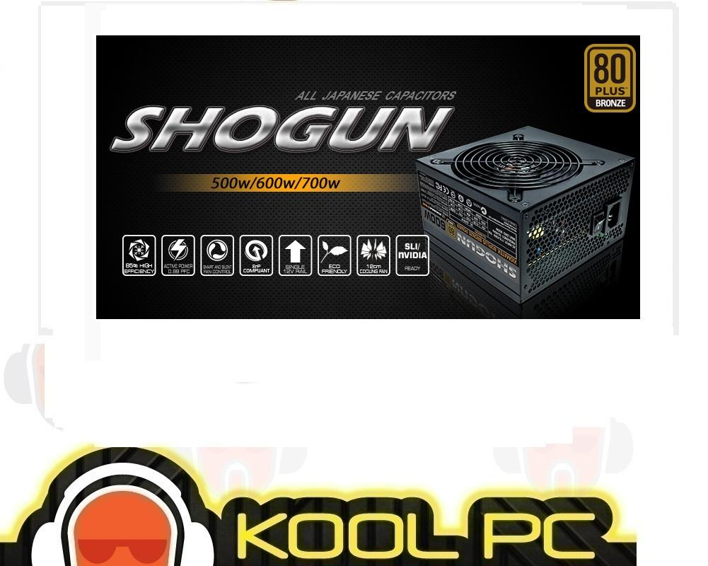 Xigmatek Shogun 600W/700W Power Supply,80 Plus Bronze, Japan Capacitor