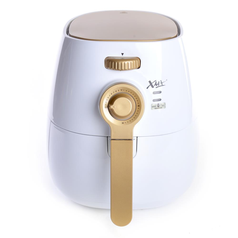 XMA 832AF 3.2L Air Fryer (White And Gold)