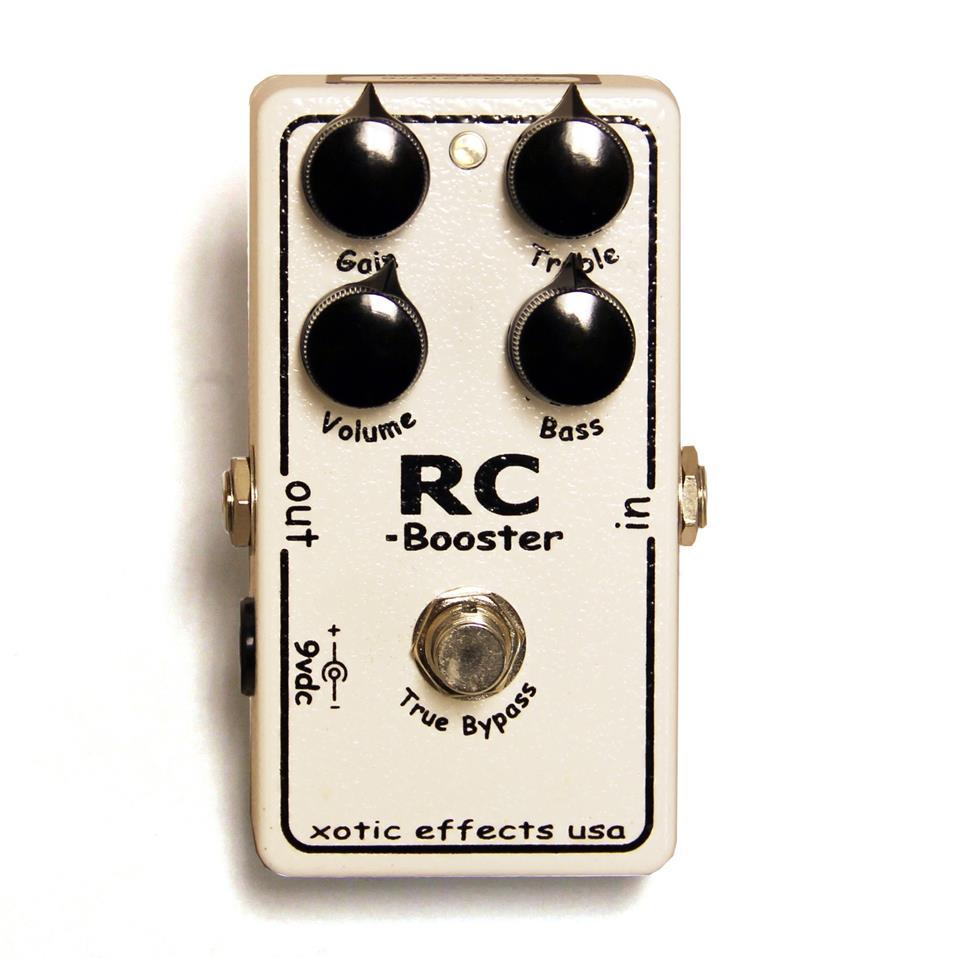 Xotic RC Booster Effects Pedal