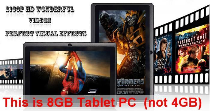 XPAD with Bluetooth work like iPad Samsung WIFI Android Tablet PC