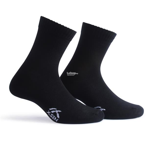 XSEN STANDARD BLACK LONG SOCKS XSK71901