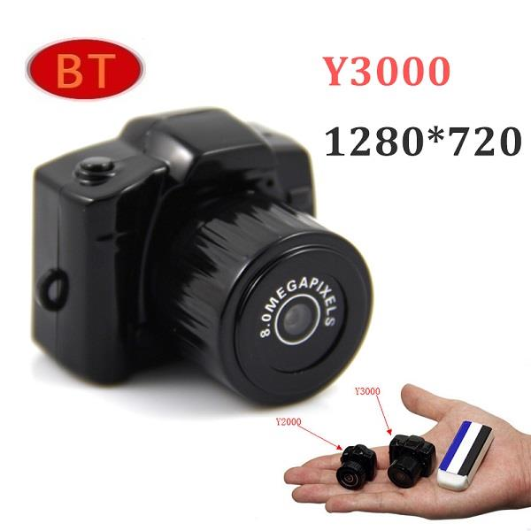 Y3000 World Smallest Mini Camcorder HD Mini DV Camera (Avlb.28.10.16)