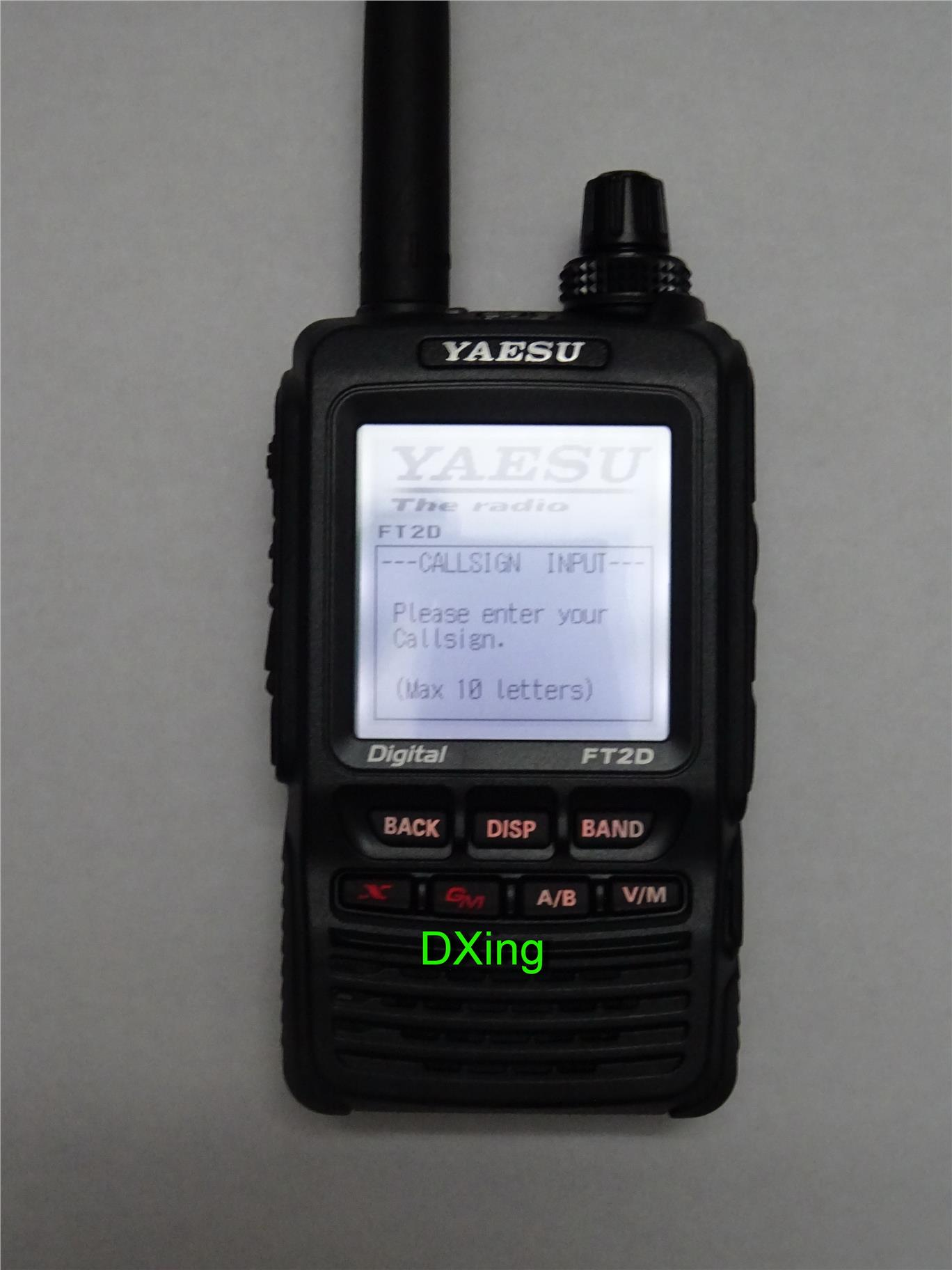 Yaesu FT-2DR 144/430 MHz Dual Band Digital Handheld Transceiver
