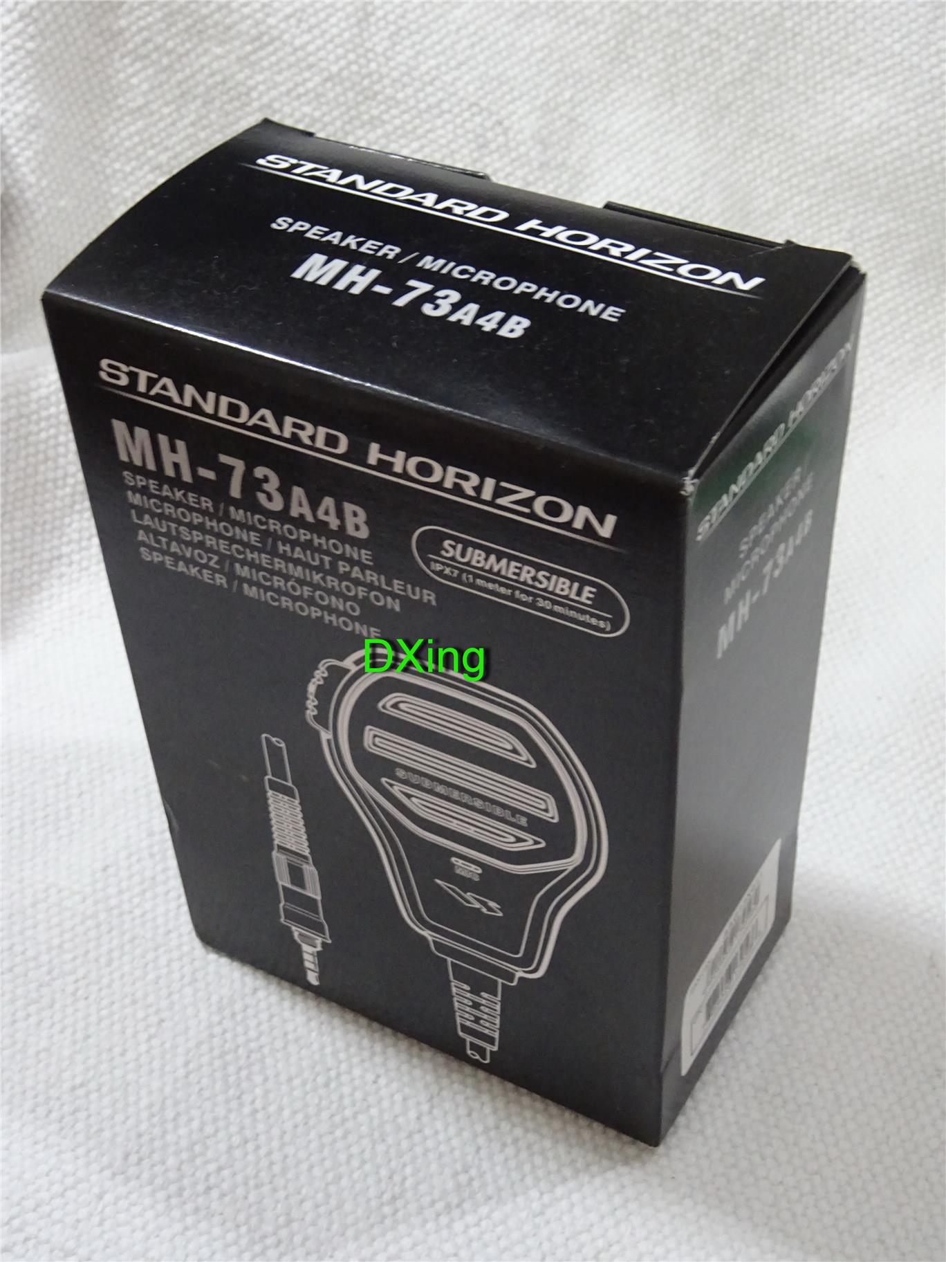 YAESU MH-73A4B Submersible Speaker/Microphone@ ptt # standard horizon