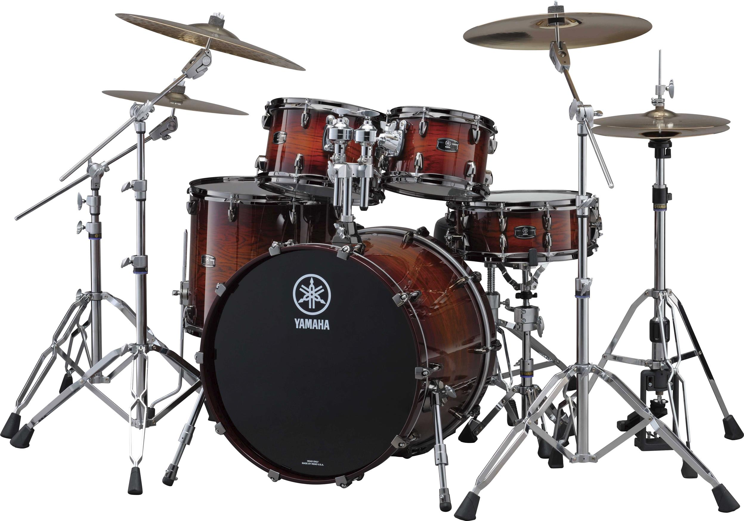 Yamaha Live Custom Oak Professional Acoustic Drum Set AWS