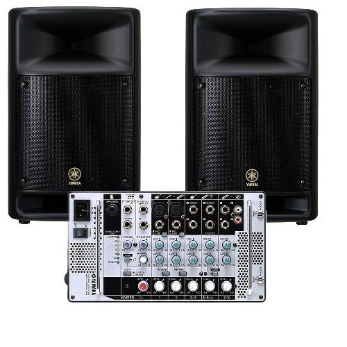 Yamaha Portable PA System STAGEPAS 500