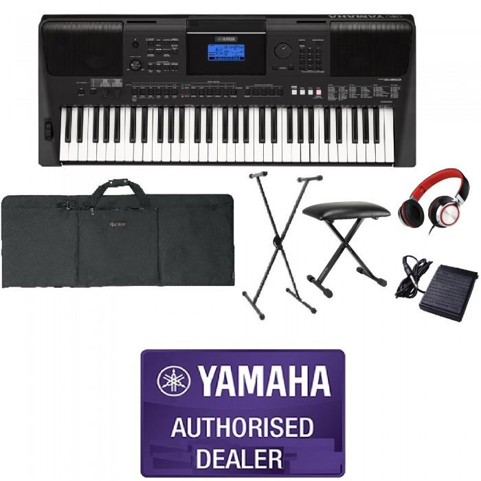 Yamaha PSR-E453 Beginner Portable Keyboard Package B