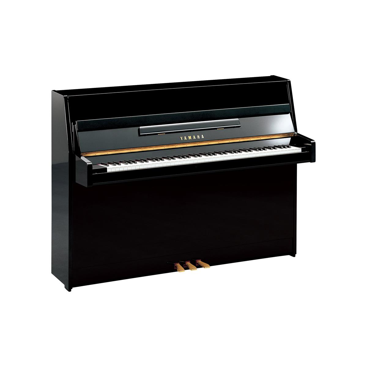 Yamaha Upright Piano JU109 PE JU109-PE POLISHED BLACK with FREE Items