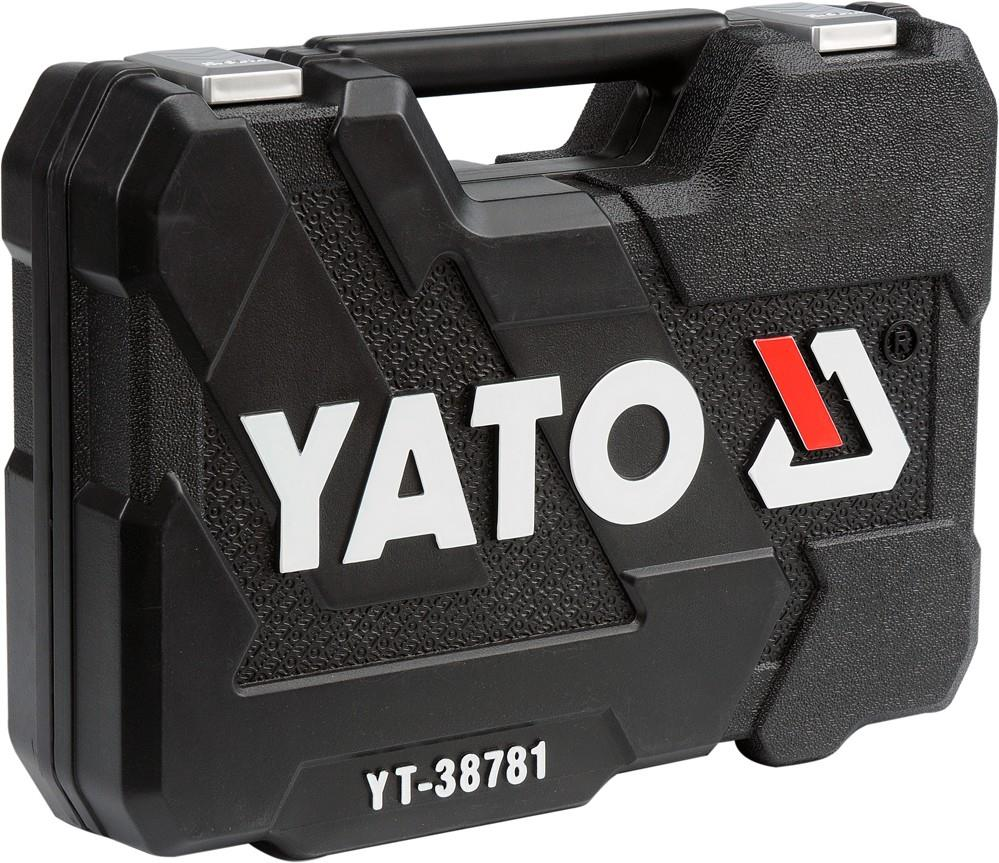 "Yato 77pcs 1/2"", 1/4"" Dr. Socket and Tool Sets"