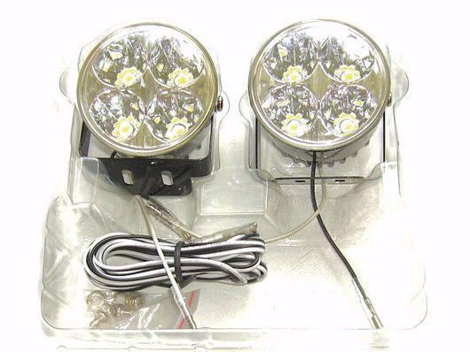YCL 3' 1W Super Bright LED Fog Lamp / Spot Light 1 Pair YCL-685