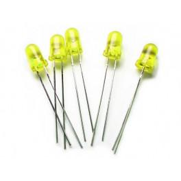 Yellow / 5mm LED Normal Brightness