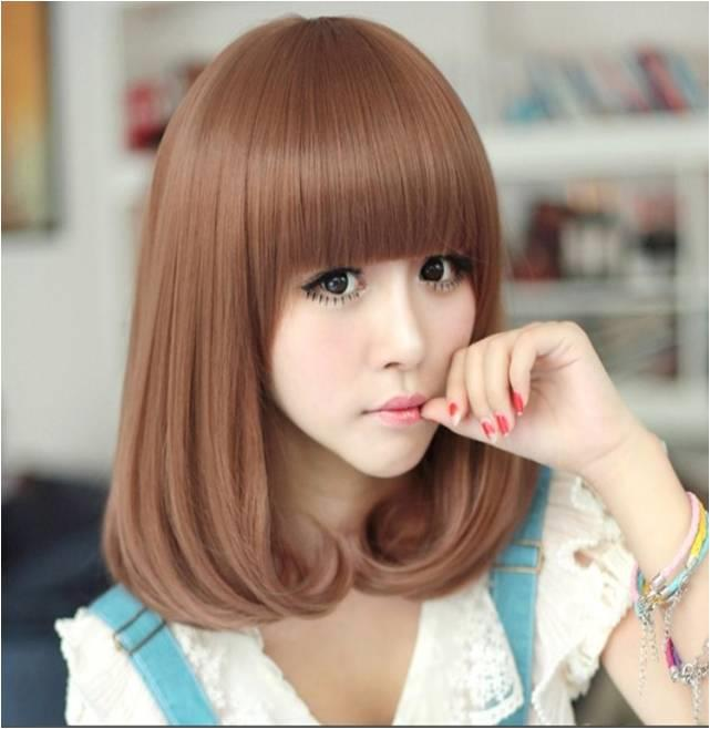 yellow brown medium hair*ready stock* 20