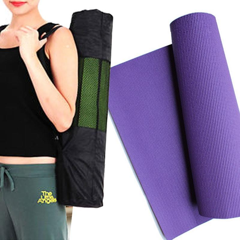 Yoga Mat � 8mm Thickness with Carry bag