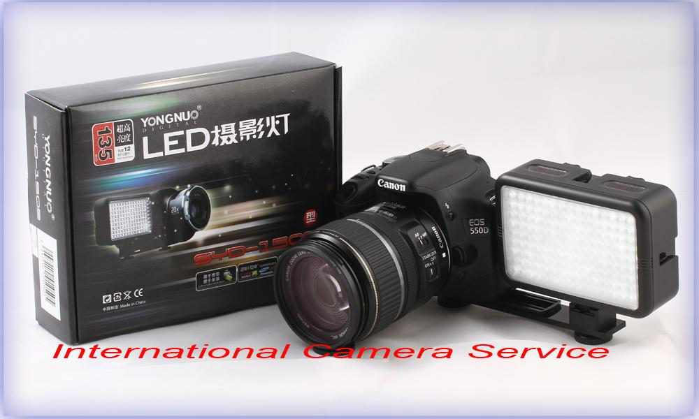 Yong Nuo SYD-1509 135 LED Photo Video Light for DSLR & Camcorder(Free ..