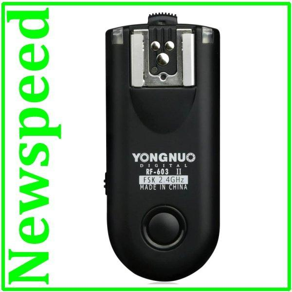 Yongnuo Flash Trigger RF-603 II Mark II (1pc Transceiver) for Nikon