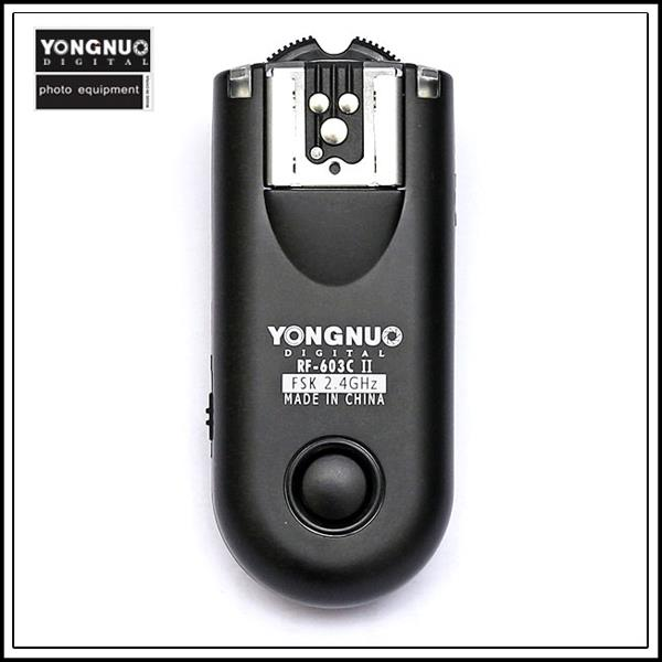 Yongnuo RF-603 II Mark 2 1 Transceiver for Canon