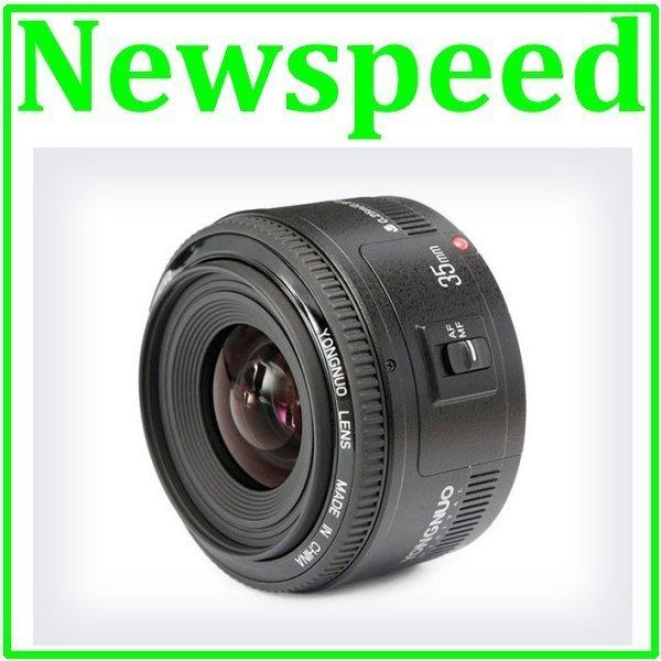 New Yongnuo YN 35mm F2.0 Lens for Canon DSLR Camera