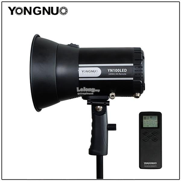 Yongnuo YN100LED LED Sun Light 5500K Video Light with Adapter & Remote