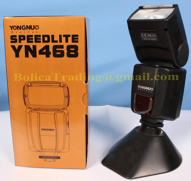 YongNuo YN468 DSLR TTL Display Flash *For CANON 450D,500D,550D,1000D