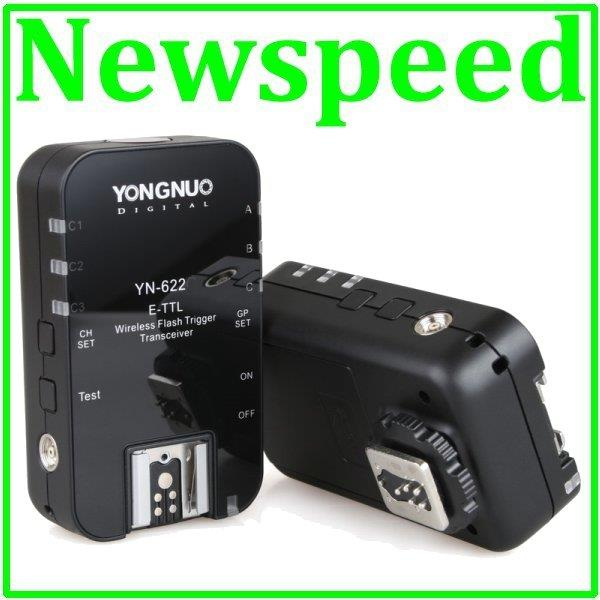 New Yongnuo YN622 Wireless TTL Flash Trigger Set for Nikon Camera
