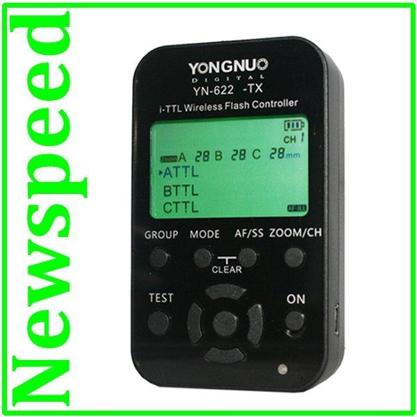 Yongnuo YN622N-TX TTL LCD Wireless Flash Trigger YN622 N TX for Nikon