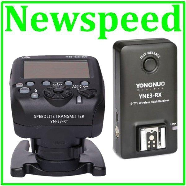 Yongnuo YNE3-RT Wireless Speedlite Transmitter + YNE3-RX Receiver