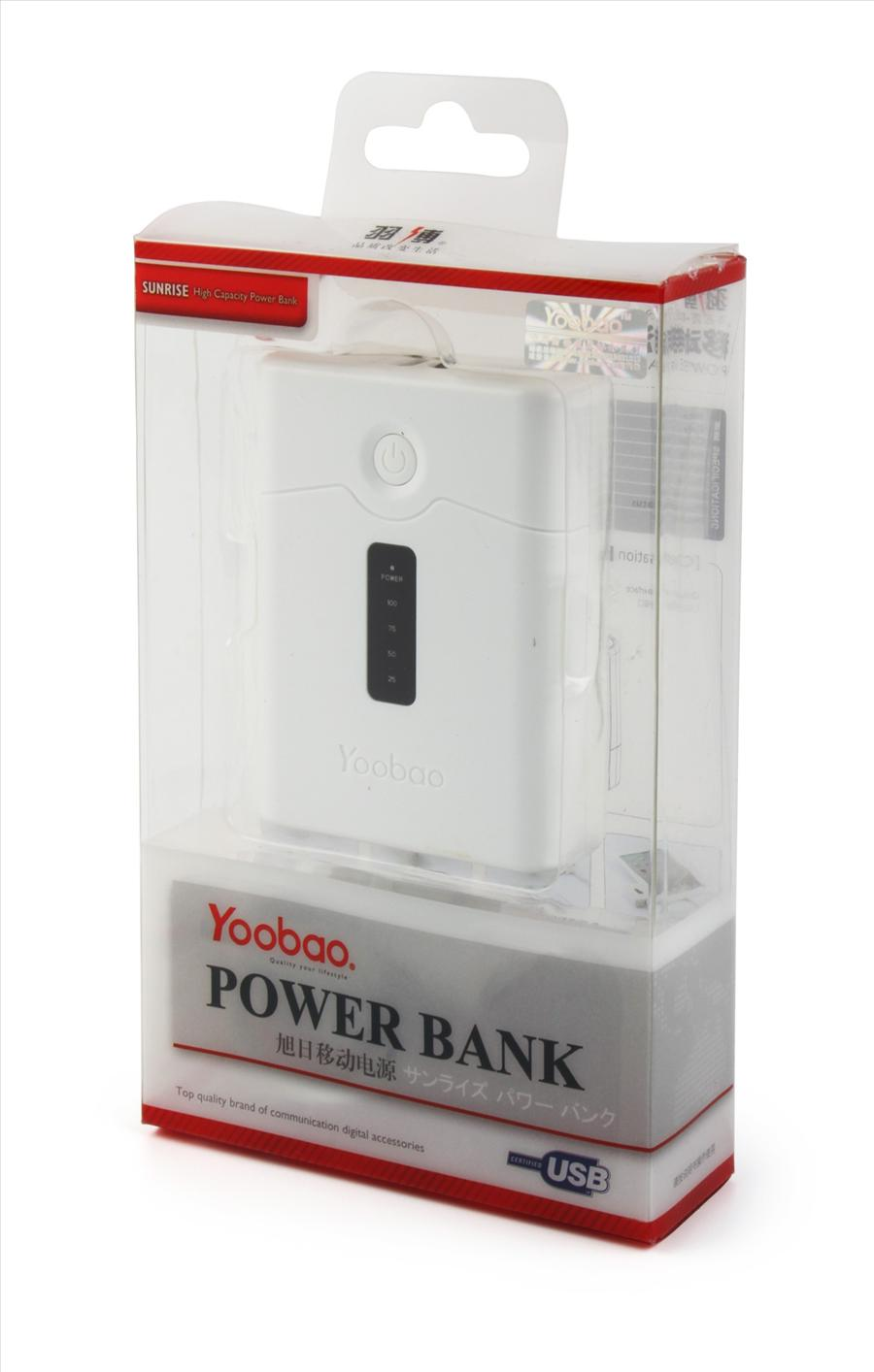 YOOBAO portable power bank YB-602 (4800mah) External Battery Iphone 4S