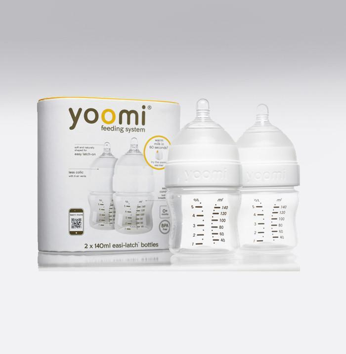 Yoomi 5oz feeding bottle - TWIN PACK