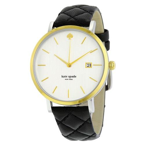New York Metro Grand Quartz Leather Strap 1YRU0125 Women's Watch