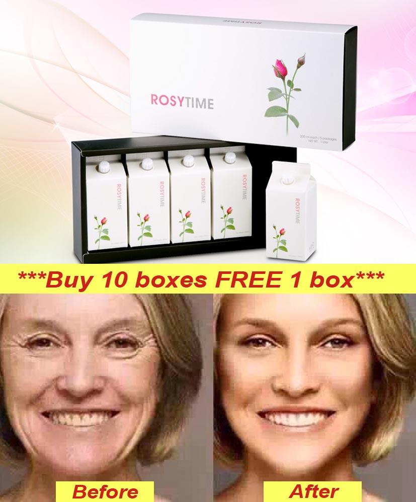 Looks Younger with AntiOxidant Boosting of ROSYTIME - FREE Shipping