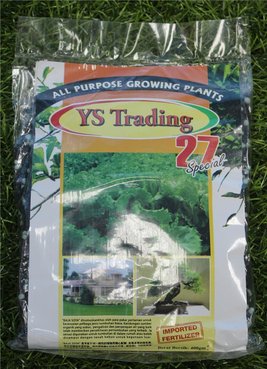 YS 27 Fertilizer For all Plants 400G
