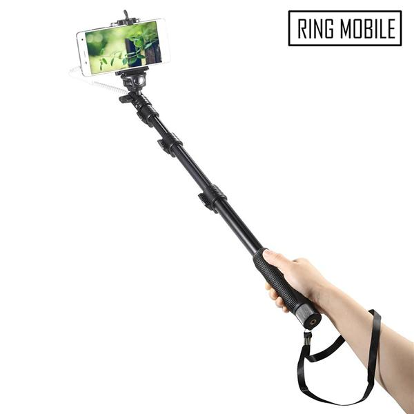 Yunteng YT1188 Wired Selfie Stick Monopod - Original