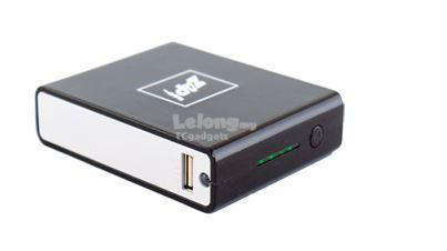 ZAP 10400mAH Dual USB Output Power Bank (BA76)