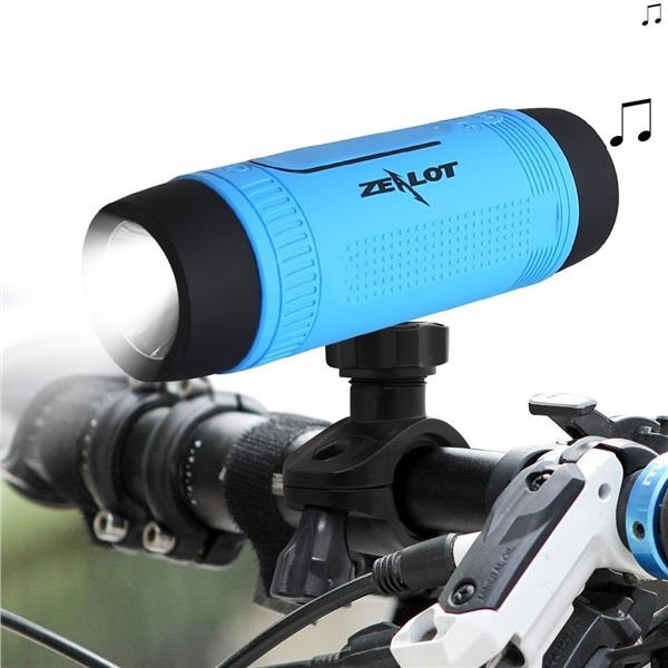 Zealot S1 Bluetooth Outdoor Bicycle Speaker Portable Subwoofer Bass
