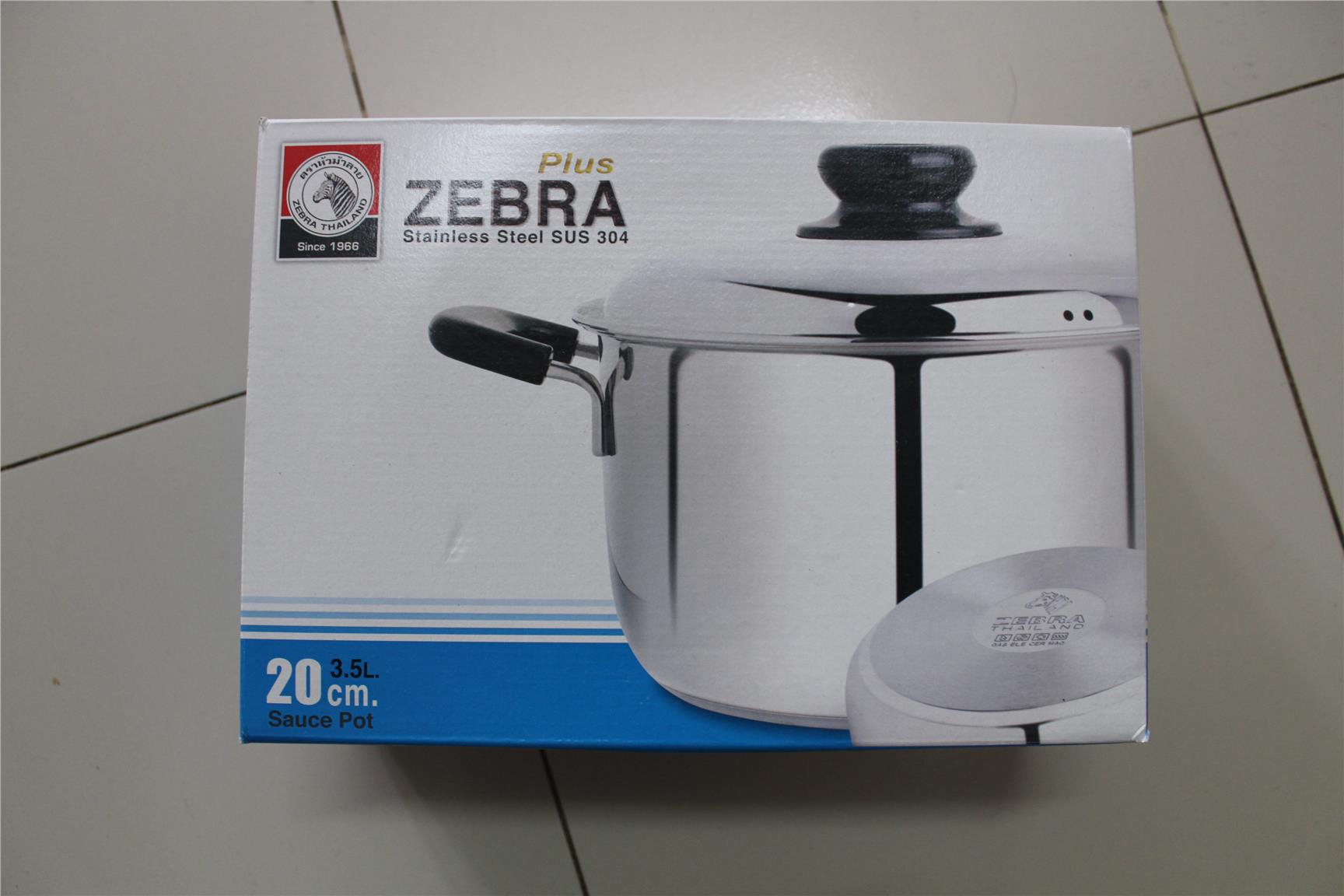 Zebra Sauces Pot 18CM-24CM 【Thailand Version】