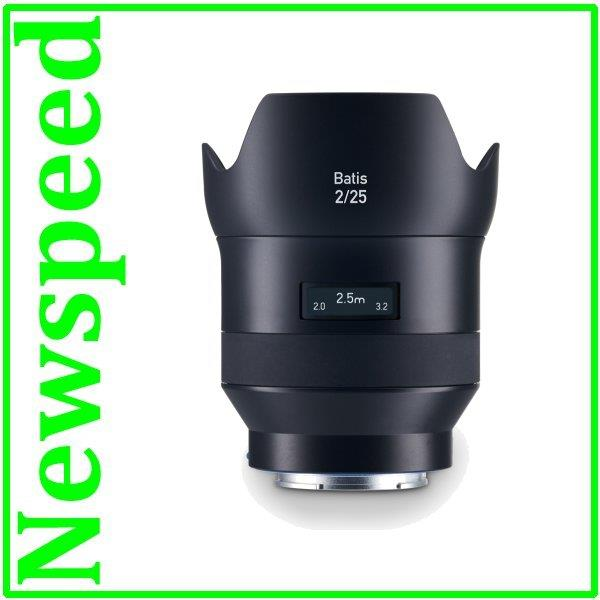 Zeiss Batis 25mm f/2 Lens for Sony E Mount Full Frame ZEISS Batis 2/2