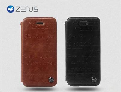 ZENUS IPHONE 5 Case Masstige Lettering Diary Leather Case Bag
