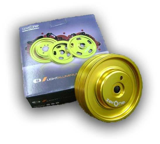 ZERONE T6 Light Weight Crank Pulley: PROTON SATRIA GTI/ PUTRA 4G93