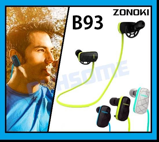 ZONOKI B93 Bluetooth Multipoint Connection Sweatproof Sport Headset