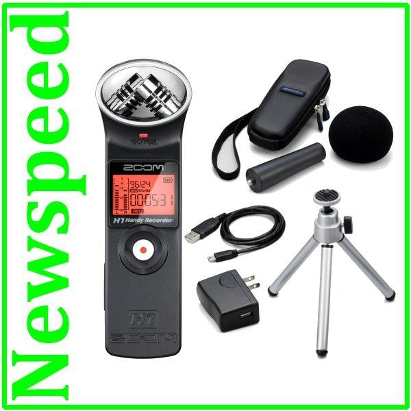 Zoom H1 Digital Audio Sound Recorder +Accessory Package APH-1 + 2 Gift