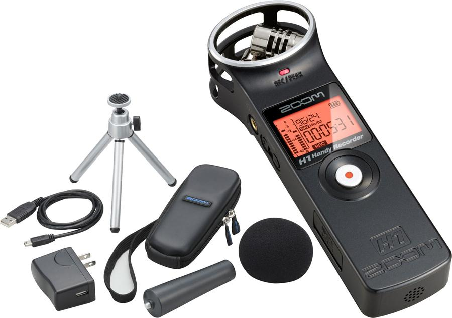 # Zoom H1 Handy Recorder Black + Accessory Pack (APH1)