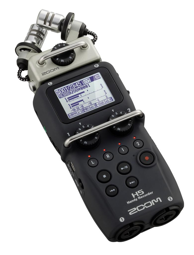 Zoom H5 Handy Recorder with Interchange Mic System *Free Postlaju*