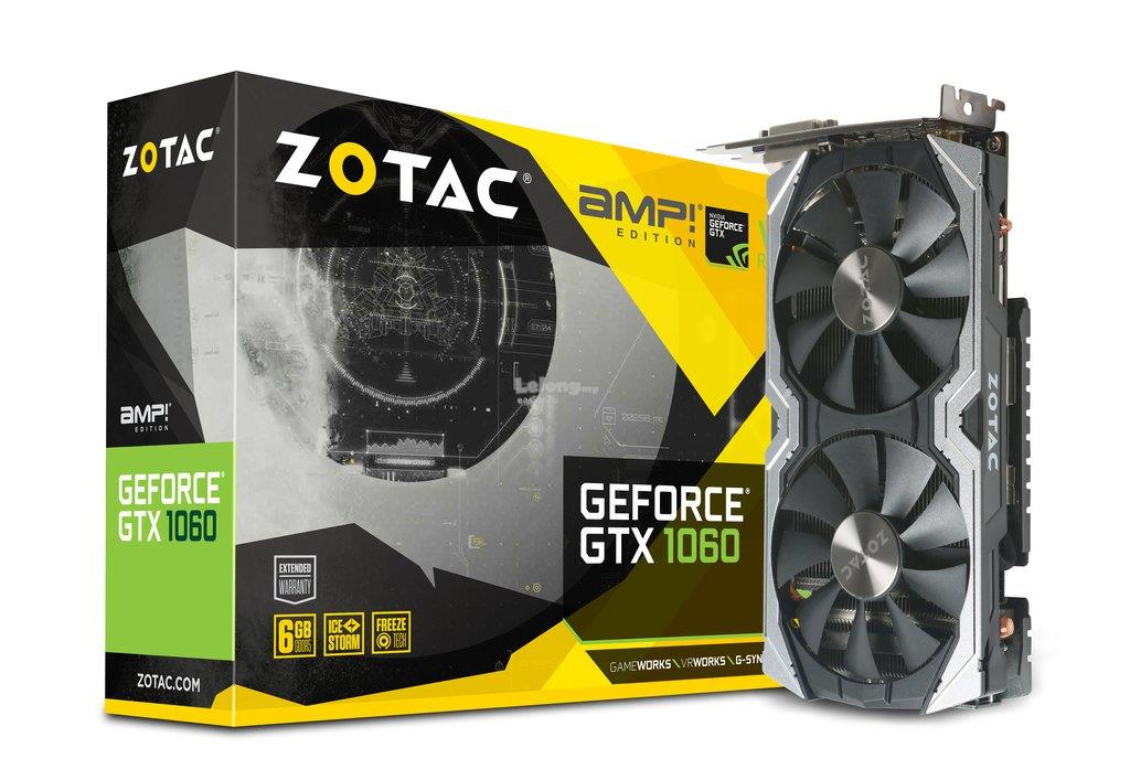 ZOTAC GEFORCE GTX 1060 AMP! EDITION SE 6GB GDDR5 192BIT
