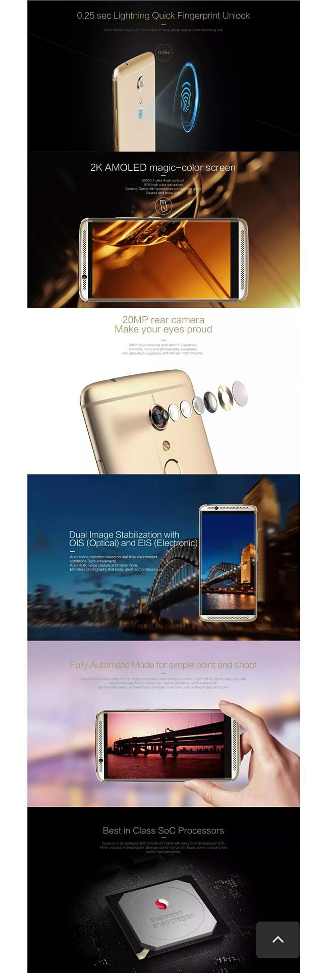 ZTE Axon 7 (64GB) ZTE Original Set + Free Gift