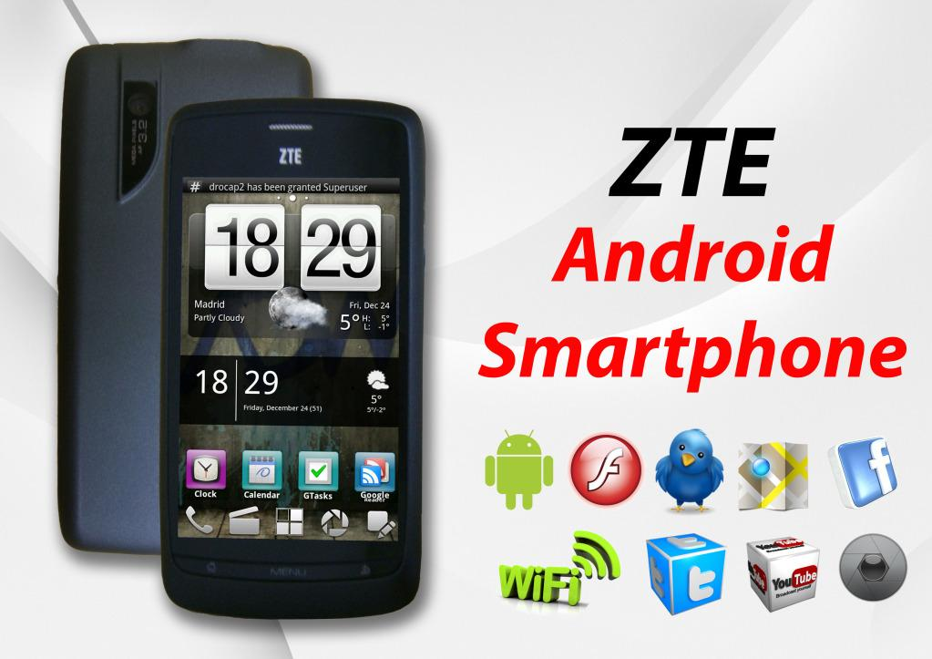 ZTE BLADE 3.5' ANDROID 2.3 HANDPHONE /KLANG * cheapest in town