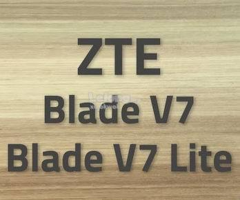 ZTE Blade V7 Lite soft TPU case  (buy 1 free 1 clear stock)